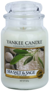 Yankee Candle Sea Salt & Sage vela perfumada  Classic grande