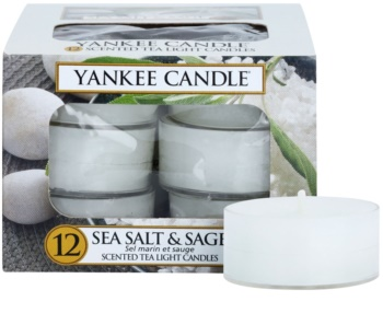 Yankee Candle Sea Salt & Sage vela de té