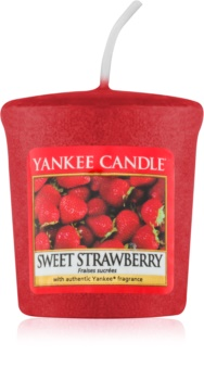 Yankee Candle Sweet Strawberry vela votiva 49 g
