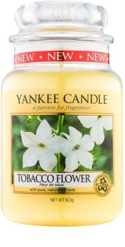 Yankee Candle Tobacco Flower vela perfumada Classic grande
