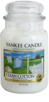 Yankee Candle Clean Cotton vela perfumada  Classic grande