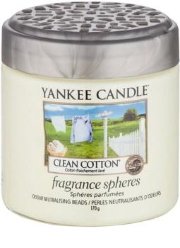Yankee Candle Clean Cotton perełki zapachowe