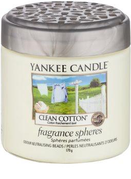 Yankee Candle Clean Cotton pérolas aromáticas