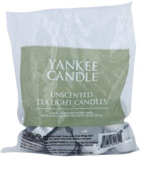 Yankee Candle Unscented čajová svíčka