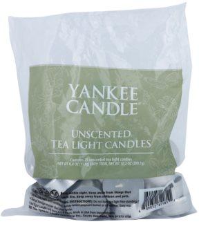 Yankee Candle Unscented vela de té