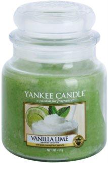 Yankee Candle Vanilla Lime vonná svíčka Classic střední
