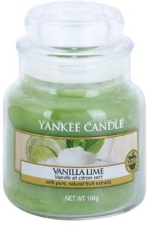 Yankee Candle Vanilla Lime vela perfumada  Classic pequeña