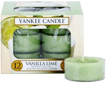 Yankee Candle Vanilla Lime čajová svíčka