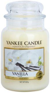 Yankee Candle Vanilla bougie parfumée Classic grande