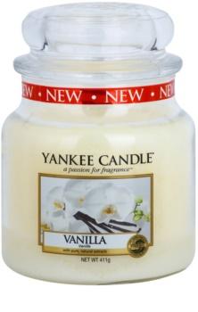 Yankee Candle Vanilla vonná svíčka Classic střední