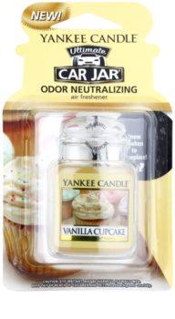 Yankee Candle Vanilla Cupcake car air freshener hanging
