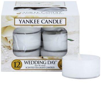 Yankee Candle Wedding Day čajová svíčka