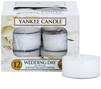 Yankee Candle Wedding Day tealight candle