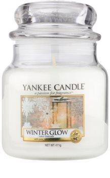 Yankee Candle Winter Glow vela perfumada  Classic mediana