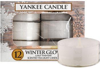 Yankee Candle Winter Glow čajová sviečka 12 x 9,8 g