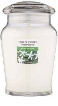 Yankee Candle White Jasmine vela perfumada  340 g mediano