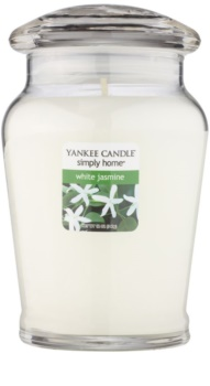 Yankee Candle White Jasmine vela perfumado 340 g intermédio