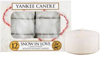 Yankee Candle Snow in Love čajová svíčka