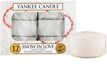Yankee Candle Snow in Love duft-teelicht