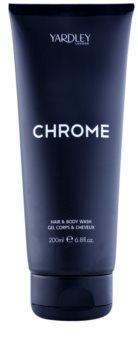Yardley Chrome sprchový gel pro muže 200 ml