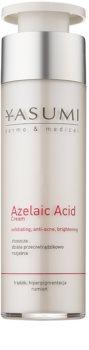 Yasumi Dermo&Medical Azelaic Acid Lindrande kräm För känslig aknebenägen hud