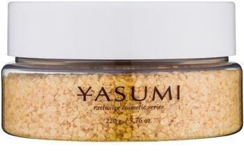 Yasumi Gold Sensation sal de banho com o aroma de champanhe