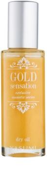 Yasumi Gold Sensation huile sèche aux paillettes d'or visage, corps et cheveux
