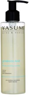 Yasumi Dermo&Medical Lactobionic Acid gel de limpeza para a pele sensível com tendência a aparecer com vermelhidão