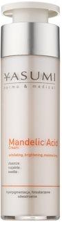 Yasumi Dermo&Medical Mandelic Acid rozjasňujúci hydratačný krém pre obnovu povrchu pleti