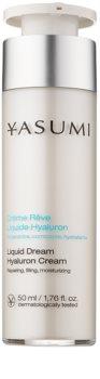 Yasumi Moisture crema hidratante para pieles secas con ácido hialurónico