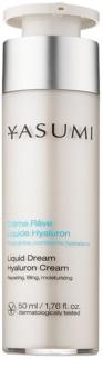 Yasumi Moisture feuchtigkeitsspendende Creme für trockene Haut mit Hyaluronsäure
