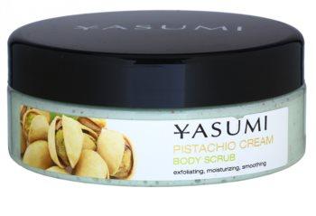 Yasumi Body Care Pistachio Cream peeling corporal calmante