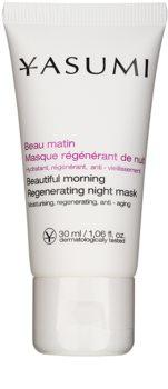 Yasumi Anti-Wrinkle noční regenerační maska s vyhlazujícím efektem