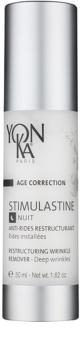 Yon-Ka Age Correction Stimulastine crema de noche renovadora  antiarrugas profundas