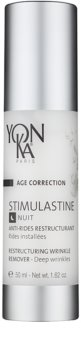 Yon-Ka Age Correction Stimulastine creme de noite renovador antirrugas profundas