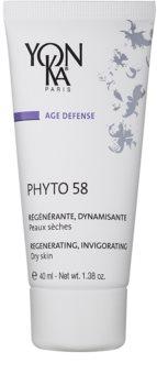 Yon-Ka Age Defense Phyto 58 crema regeneradora de noche con efecto estimulante para pieles secas