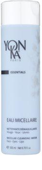 Yon-Ka Essentials água micelar para limpeza e remoção de maquilhagem