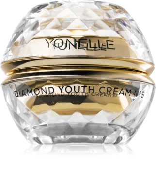 Yonelle Diamond Youth Anti-Wrinkle Day and Night Cream for Face and Eye Area
