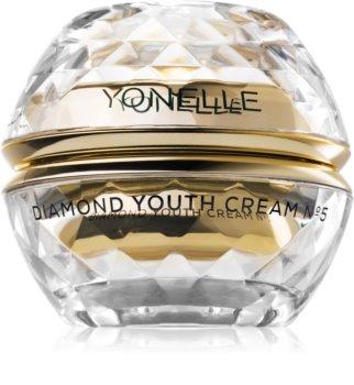 Yonelle Diamond Youth dnevna in nočna vlažilna krema proti gubam za obraz in predel okoli oči