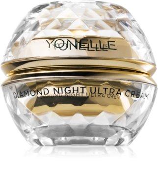 Yonelle Diamond Ultra výživný nočný krém proti vráskam v oblasti čela, očí a úst