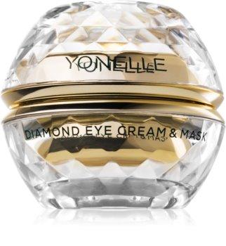 Yonelle Diamond Cream & Mask Creme-Maske für den Augenbereich gegen Falten und dunkle Augenringe