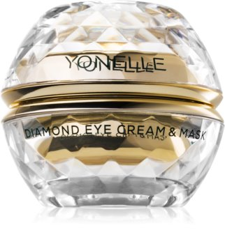 Yonelle Diamond Cream & Mask Eye Cream and Mask Anti-rynkor och mörka ringar