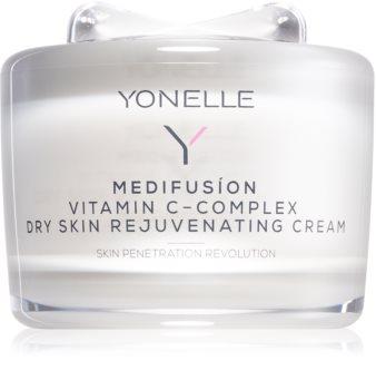 Yonelle Medifusíon Vitamin C - Complex подмладяващ крем за суха кожа