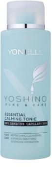 Yonelle Yoshino Pure&Care esencialni pomirjevalni tonik za občutljivo in pordelo kožo