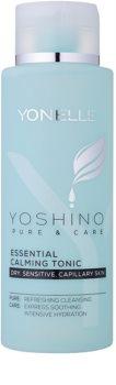 Yonelle Yoshino Pure&Care lozione tonica essenziale lenitiva per pelli sensibili e arrossate