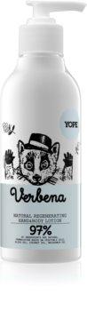 Yope Verbena lapte cu efect calmant pentru maini si corp