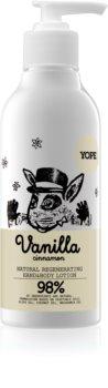Yope Vanilla & Cinnamon hidratáló tej kézre és testre