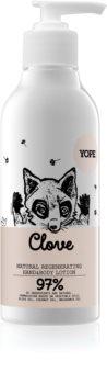 Yope Clove latte emolliente e idratante per le mani