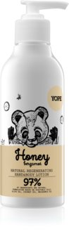 Yope Honey & Bergamot lágyító és hidratáló tej kézre