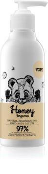 Yope Honey & Bergamot leite hidratante e suavizante para mãos